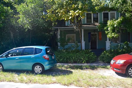 Cute vintage home for 2/3 people (Downtown) - Gainesville - Apartment
