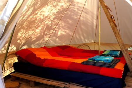 Eco Camping at Finca Slow - Ginestar - Tent
