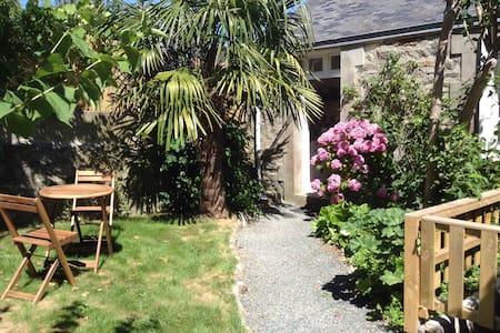 Maison avec jardin plein centre - House