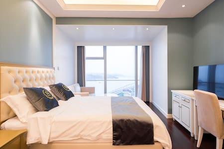 厦门大学旁地标双子塔超高层鼓浪屿海景公寓 - Xiamen - Apartment