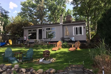 Lake Front retreat 1 hour from Midtown NYC - Ház