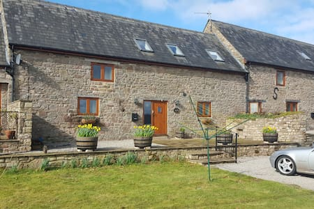 Three bedroom converted barn on organic farm - Monmouthshire - Casa
