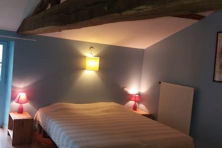 Chambre très calme et de caractère - Saint-Martin-des-Noyers
