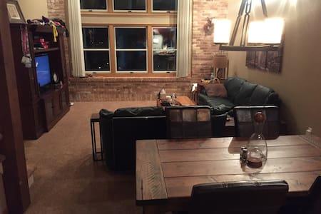 1BR, 1.5BA, 3-Floor Unique Condo - Oshkosh