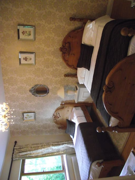 Family Room. Double and single bed en suite.