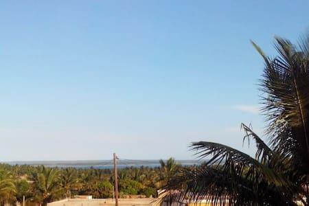 Casa blanca palmeira - Bungalow