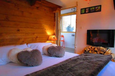 Cabane confortable et chaleureuse - Rochesson