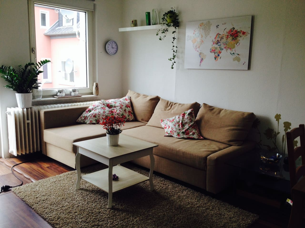 Very central located 45qm apartment