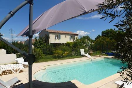 Villa piscine chauffée  pays d'Aix - Huis