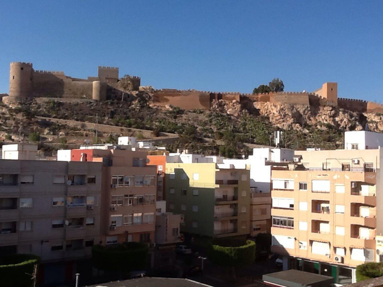 Habitación con vistas a la Alcazaba