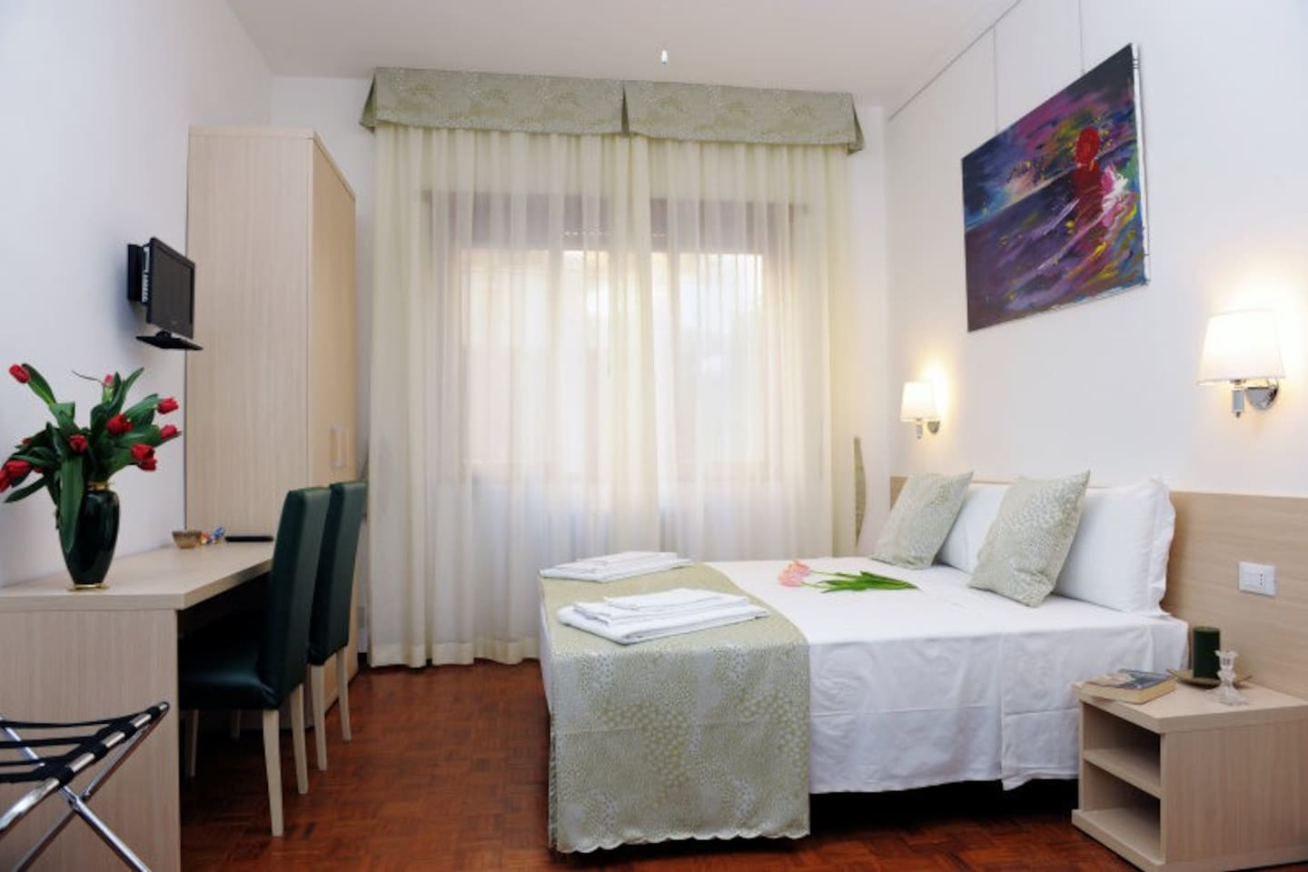 camera per 4 persone - double room plus 2 beds