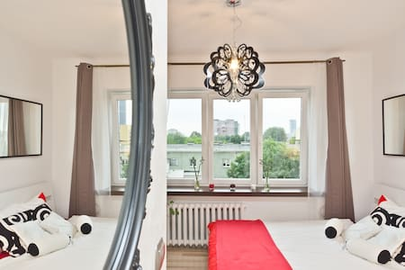 Beautiful studio near Warsaw center - Appartamento