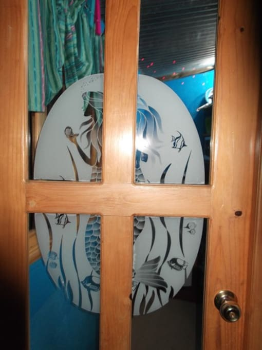 The Mermaid door.