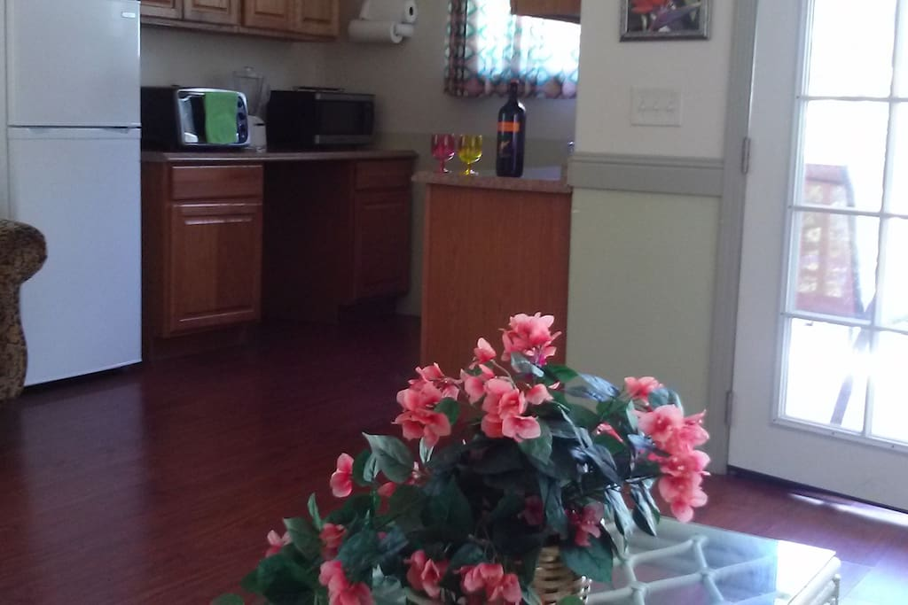 Picture of spacious cottage and food prep area - sink in utility room