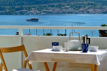 Stunning view on Vis bay and island - Appartement