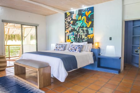 Blue Apple Beach House - Papaya Island Hotel Room - Rumah