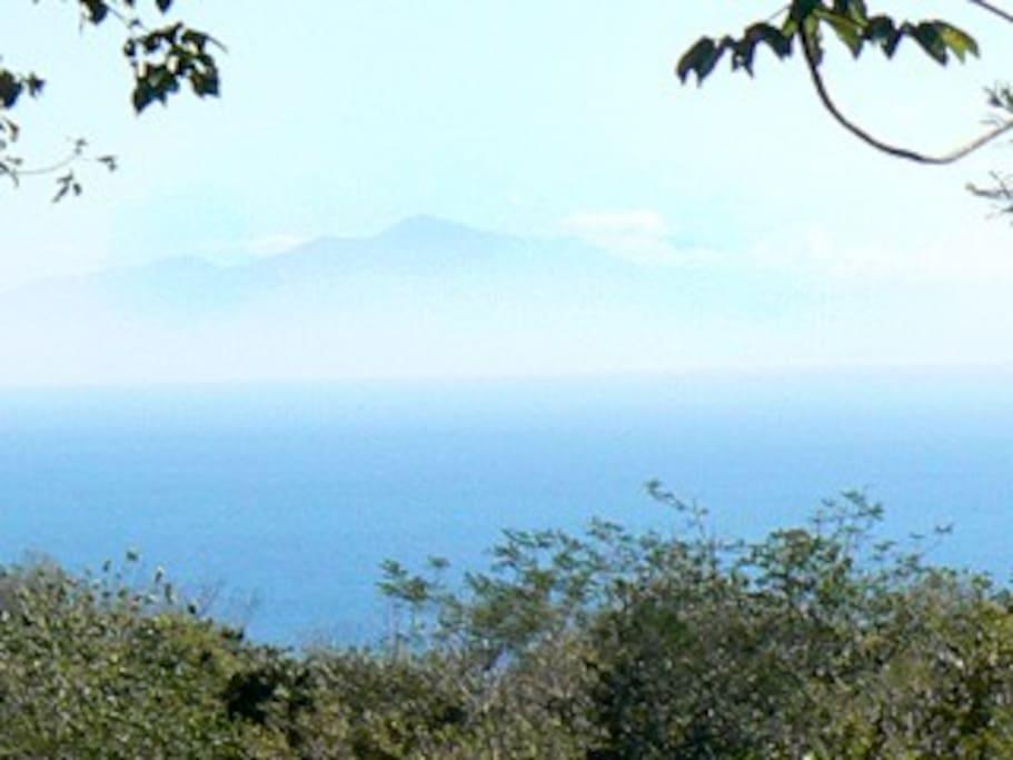 Ocean view from Casa Trogon