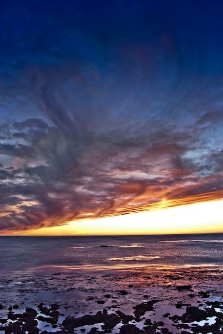 Eyrarbakki sunset