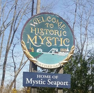 Mystic Apt room, private separate entrance. - Mystic - Huoneisto