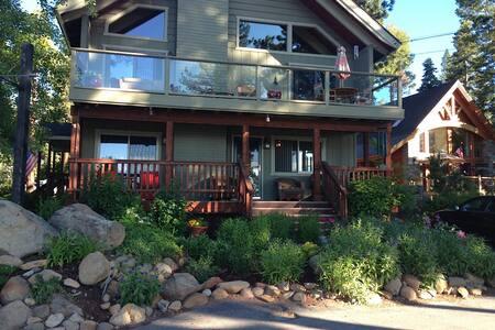 Walk to Lake Tahoe 6 BR 4 BA home