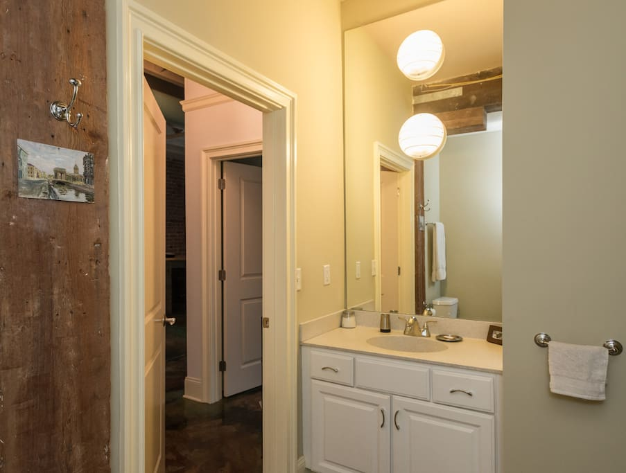 YOUR PRIVATE BATHROOM WITH FULL BATH/SHOWER...