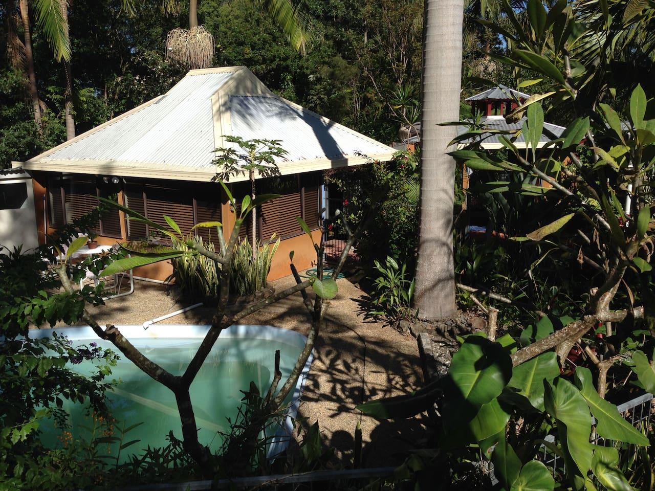 Bungalow set in beautiful garden