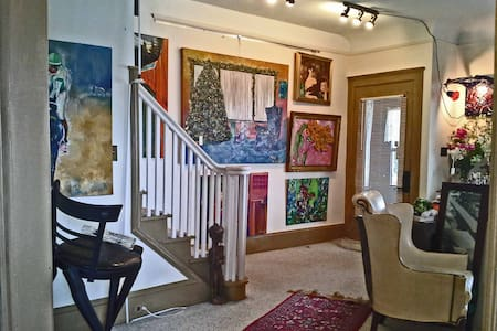 Stay w/ Artists in Gallery House R2 - Lakewood - House