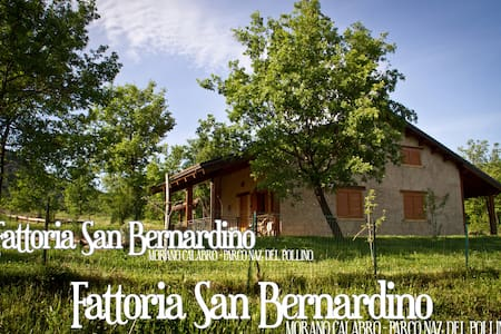 Chalet in private estate - Fattoria San Bernardino - Morano Calabro - Cabin