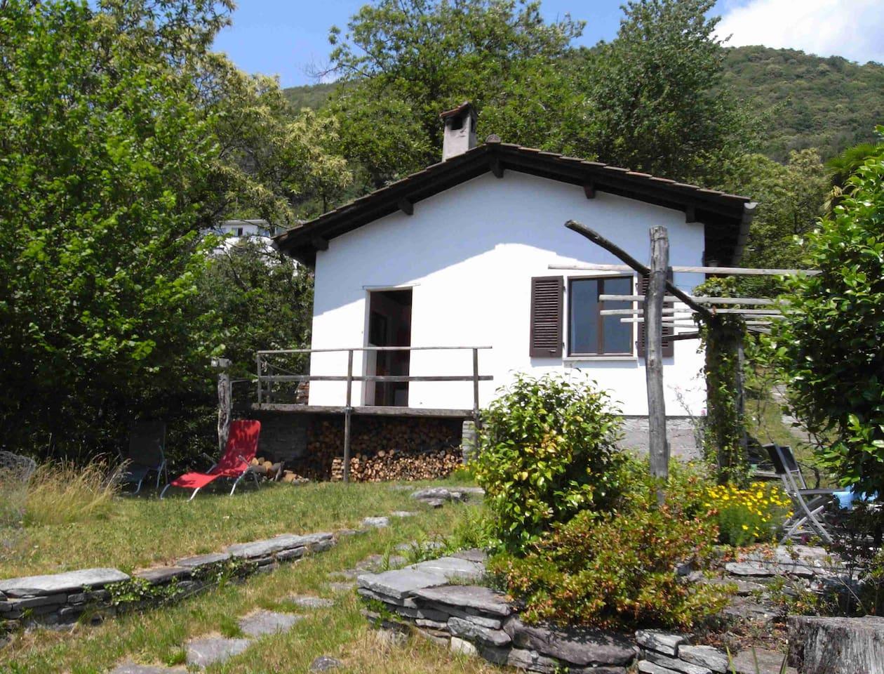 Haus im Grünen, ideal zum Relaxen