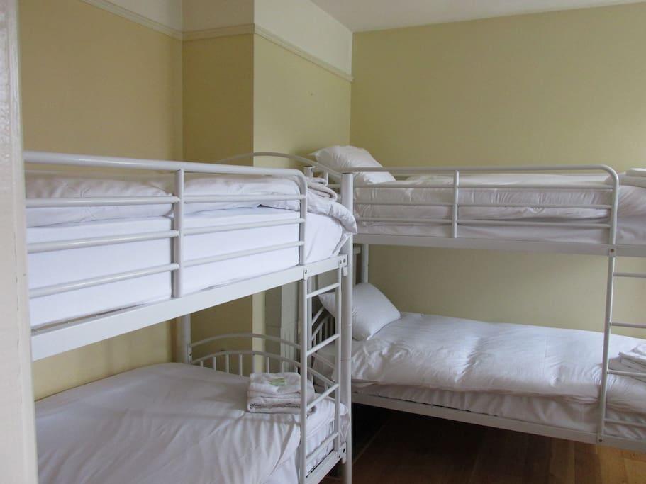 Dorm Room with Bathroom. Sleeps 6