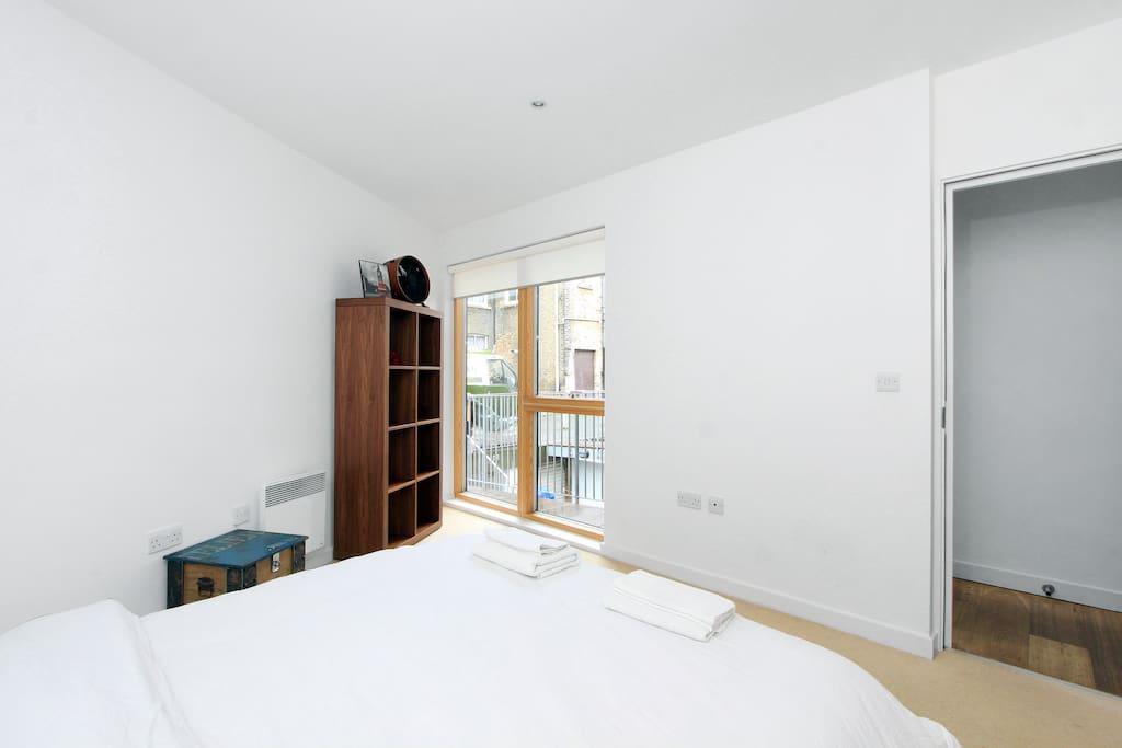 Second bedroom (street level)