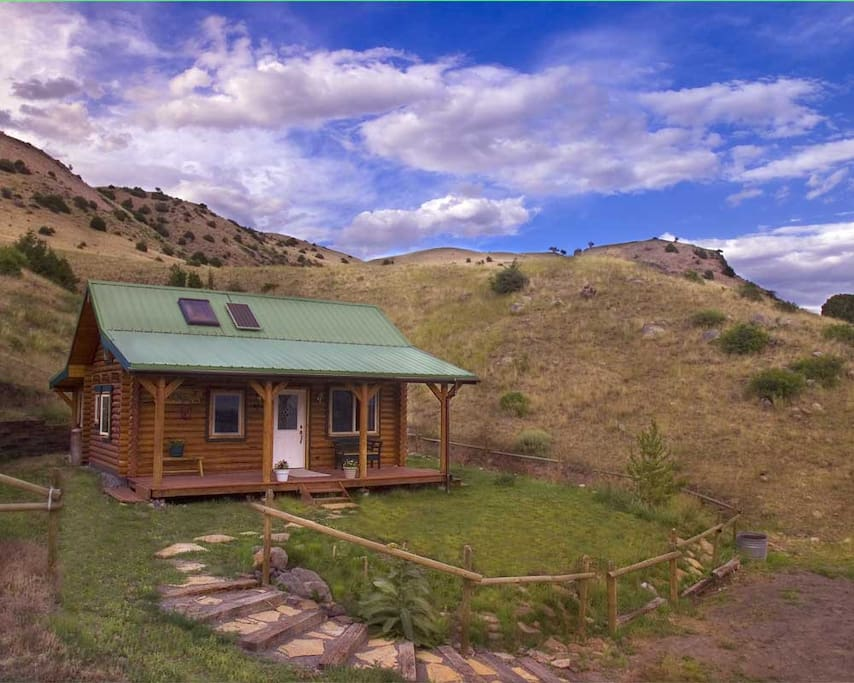 Montana Cabin Retreat In Paradise V