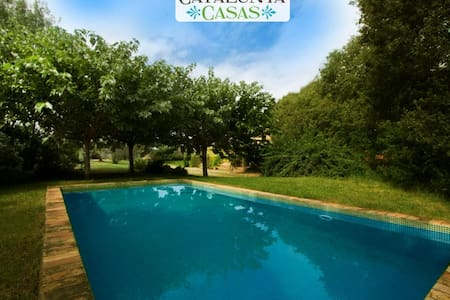 Cozy Villa Espinada with 4 bedrooms for 9 guests, tucked away in the Catalonian countryside - Villa