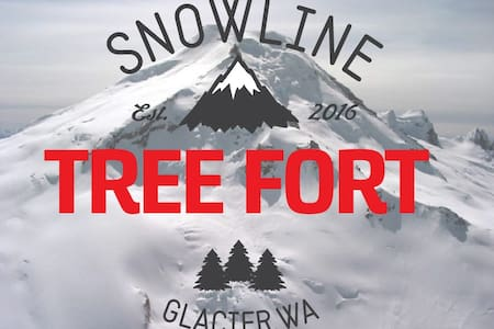 Tree-Fort Cabin Snowline (closest beds to Baker) - Deming