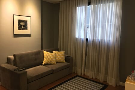 Flat em hotel perto do Pq. Barigui - Curitiba - Apartamento