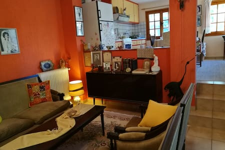 A quiet-cosy 60 sq.meters house with a big garden - Athens - Dorm