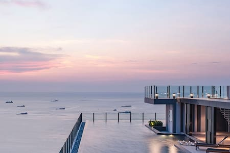 DOWNTOWN SEA VIEW 2016 NEW! FUN & CHIC CONDO - Muang Pattaya