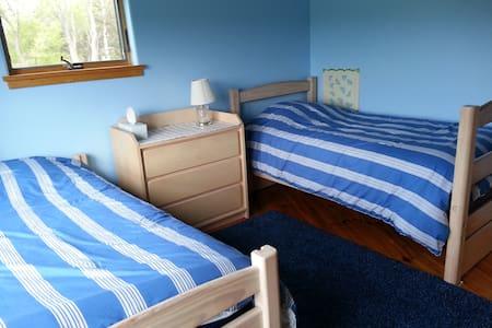Tenwood's Blue Twin Room
