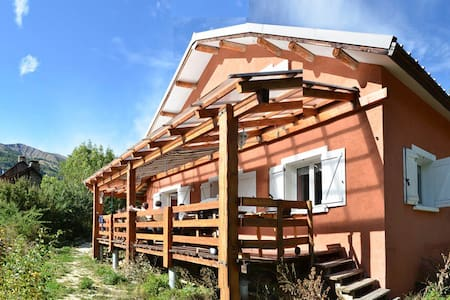 Great charming chalet in Mercantour - Dům