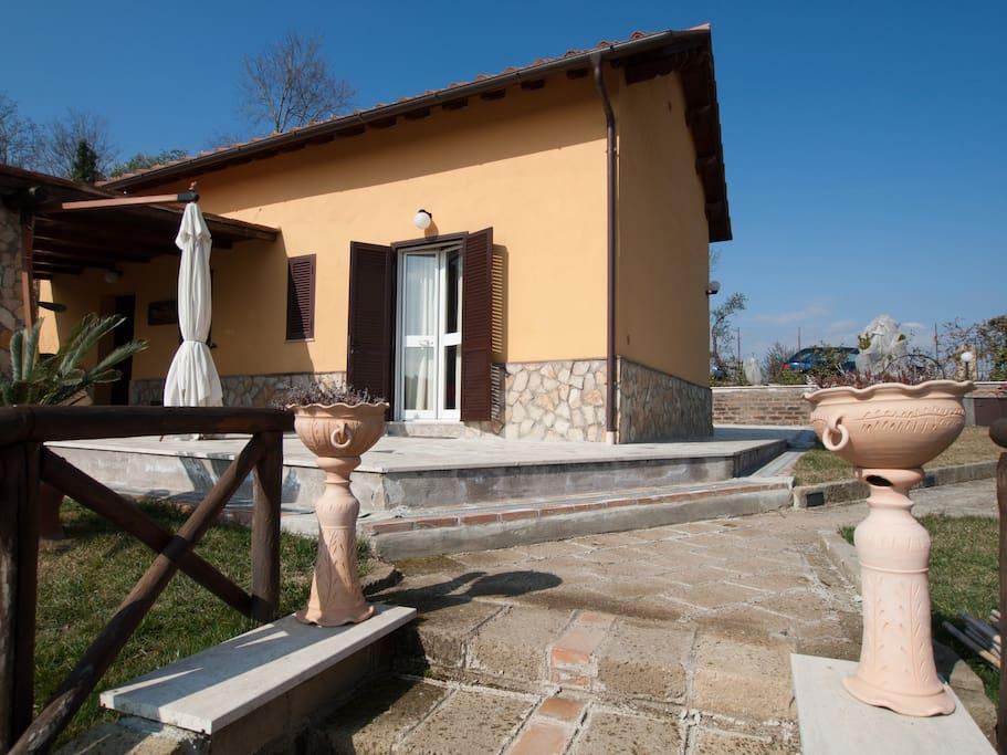 Accogliente villa in Filacciano