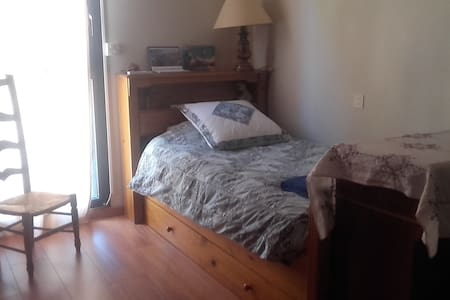 Chambre single proche du centre - Appartement