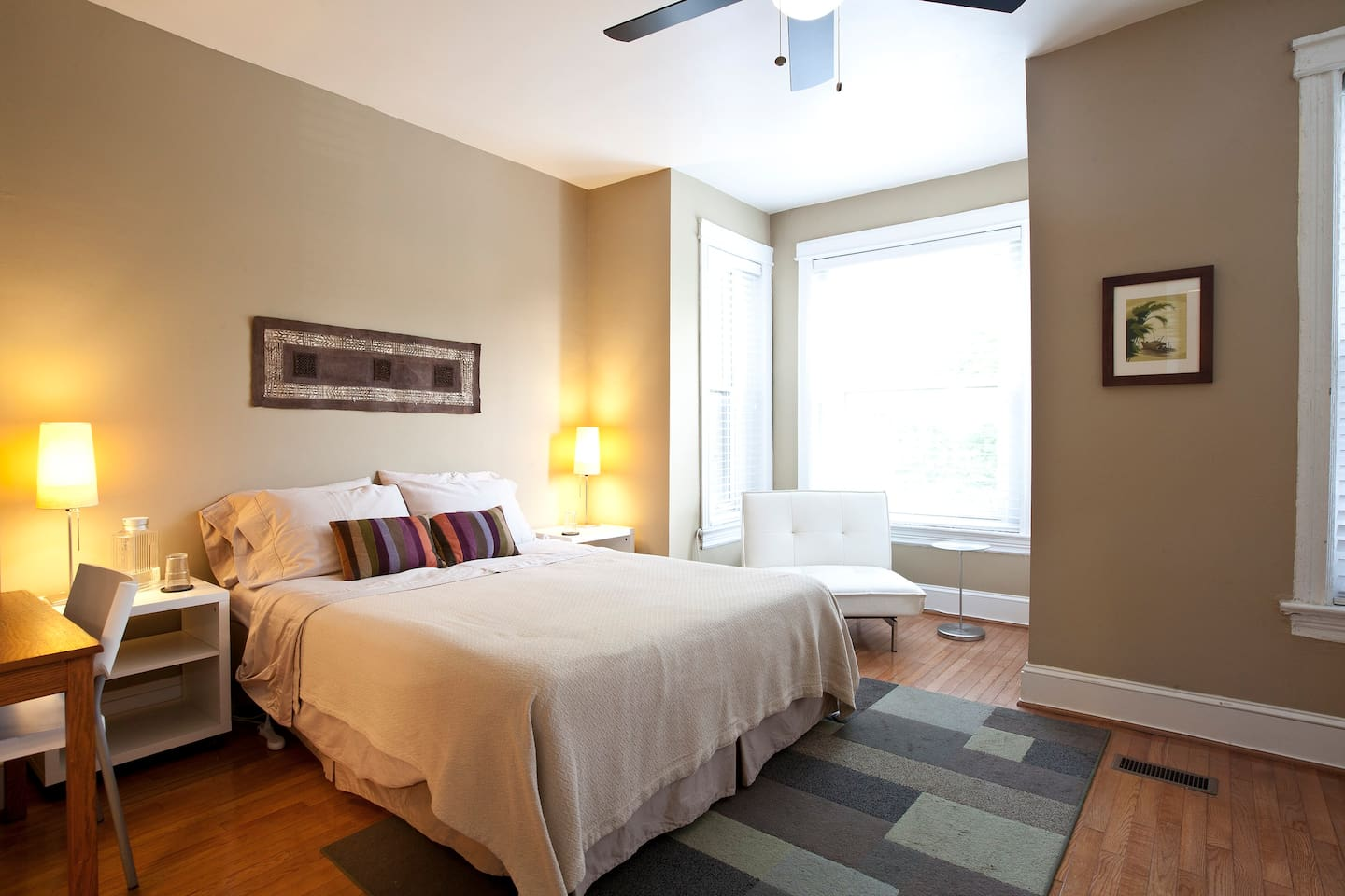 We think this is the nicest bedroom in the house, and our guests love it.