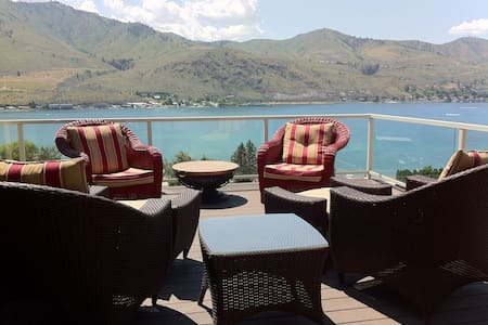 Amazing lakeview home in Chelan WA - Hus