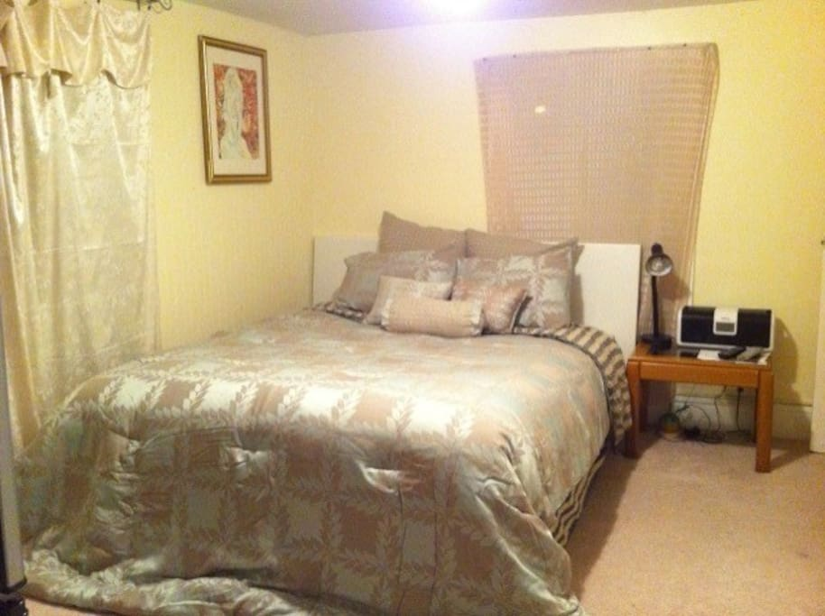 This Queen size bed has extra thick layer of padding which makes bed the most comfortable one in my house.