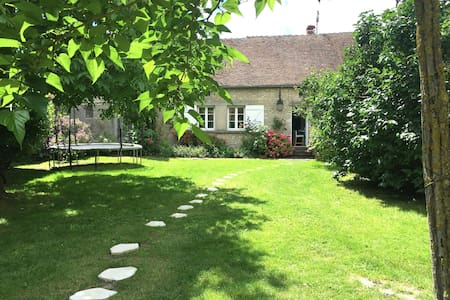 Charming house 70 km from Paris - House