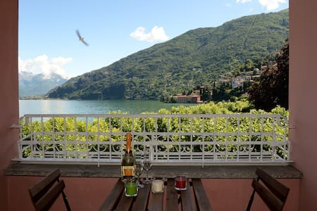 Luisa's home: flat with a wonderful lake view - Bellano - Apartment