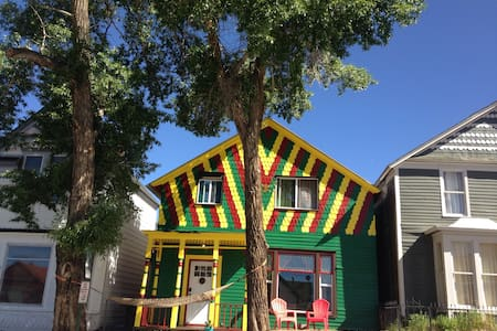 The Happy Hippie Tie Dye House - The Orange Room - Leadville - 獨棟