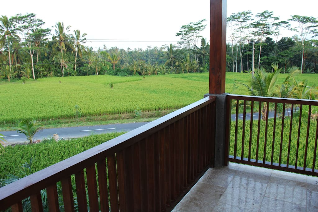 Rice Field View Balcony