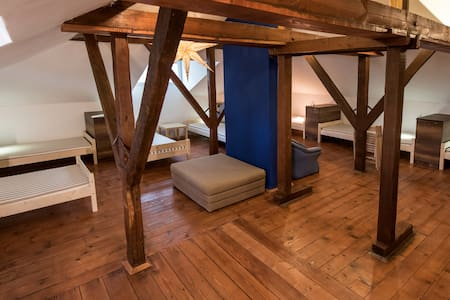 "BestRest's cozy design""8 bed attic"" - Plovdiv - House"
