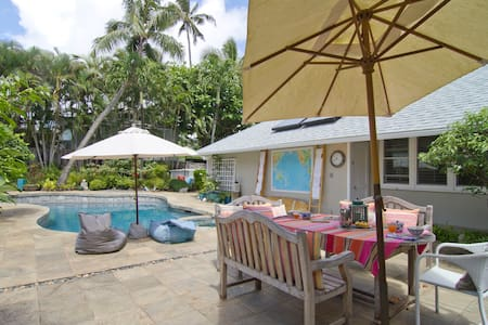 Kailua Beach footsteps away